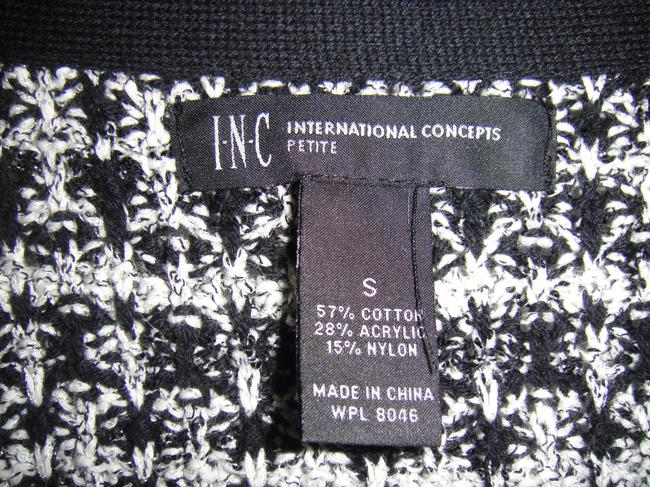 INC International Concepts Black and White Jacket