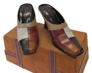 Highlights Size 5.00 M Very Good Condition Browns, Neutral Mules