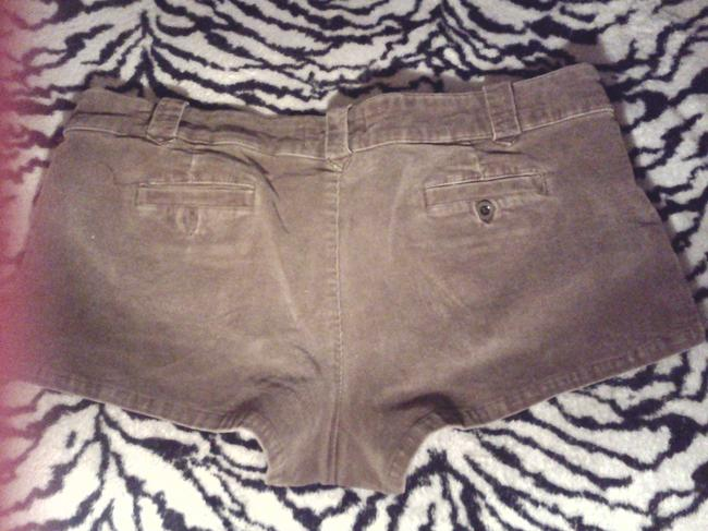 OP Corduroy Mini/Short Shorts brown