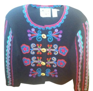 Michael Simon Vintage Embroidered Sweater