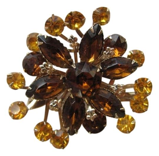 Preload https://item4.tradesy.com/images/yellow-topaz-color-flower-pin-earrings-798138-0-0.jpg?width=440&height=440