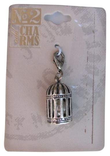 OTHER NEW ON CARD BIRDCAGE CHARM