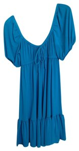 Maggy London short dress Summer Blue Blue on Tradesy