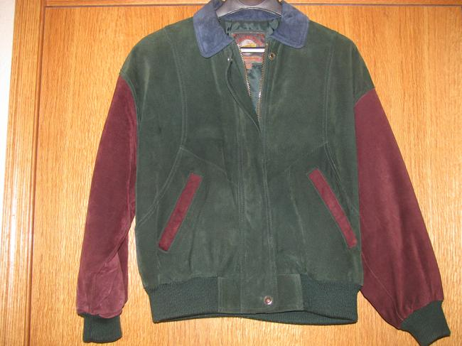 Wilsons Leather Multi colors Leather Jacket