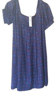 Laundry by Shelli Segal Patterned 100% Silk Pretty Dress