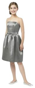 Dessy Strapless Junior Bridesmaid New With Tags Dress