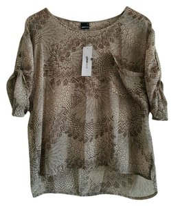 GINA TRICOT Top LIGHT GREY