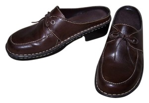 Eurostep Leather brown Mules