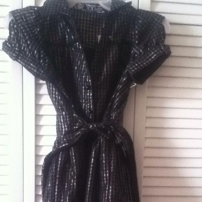 Forever 21 short dress Black/ Silver on Tradesy