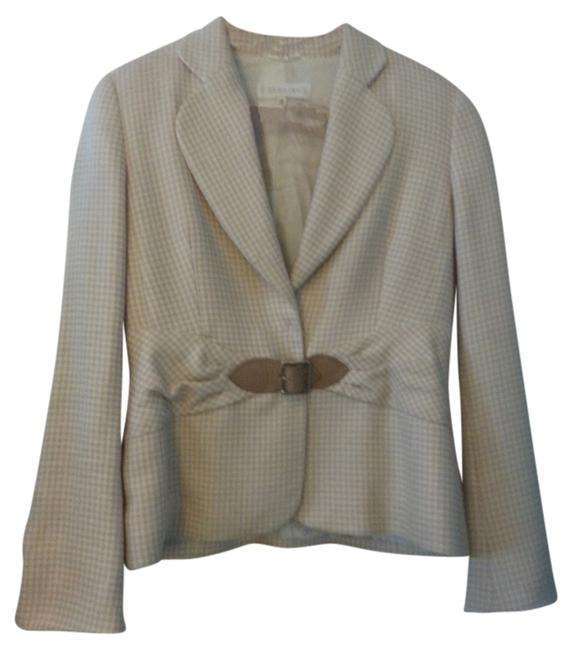 Escada Tan and cream Jacket