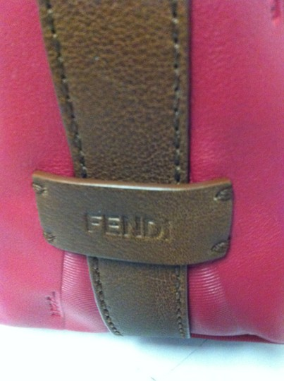 Fendi Pequin New Stripe New With Tag Classic Casual Hobo Bag