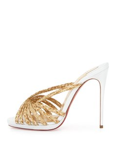 Christian Louboutin Stick-in Redbottoms Pumps Sandals