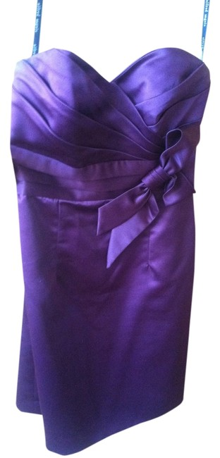 Alfred Angelo Bridesmaid Strapless Sweetheart Satin 24766 Dress