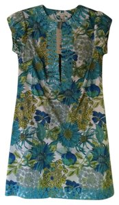 Tyler Boe short dress Turquoise and Green on Tradesy