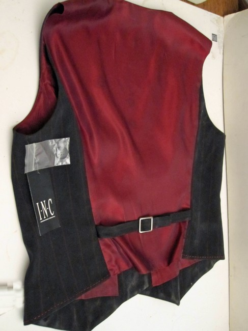 INC International Concepts Top Black with Red