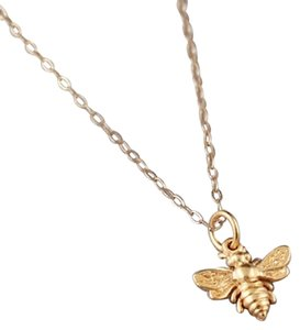 cb31cc0673ada8 Other BUMBLEBEE NECKLACE - 24K GOLD DIPPED HONEY BEE PENDANT . GIFT IDEAS  FOR HER,