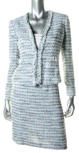 Tahari TAHARI ASL NEW Salvator Multi Tweed Metallic