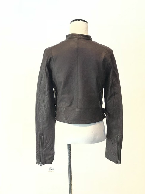 true religion brown leather jacket size 4 s tradesy. Black Bedroom Furniture Sets. Home Design Ideas