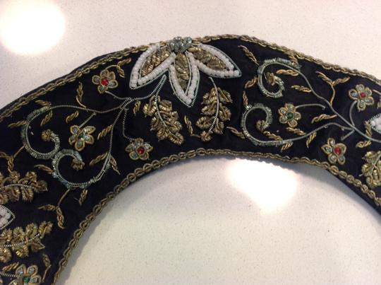 Vintage Vintage embroidered attachable collar Image 3