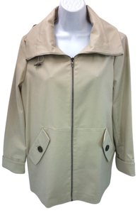 Jones New York Stretch Hooded Jacket Coat