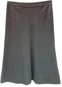 Theory Wool Skirt GRAY