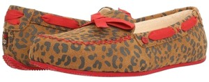 UGG Australia Kiduggs Leopard Uggs Slippers Outdoorslippers Gifts For Kids Flats