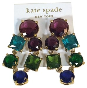 Kate Spade Rare Kate Spade Crystal Kaleidoscope Earrings NWT Perfect for Holiday Parties! Perfect Holiday Flare!