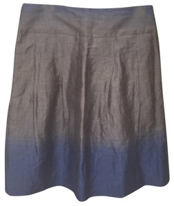 Vince Skirt Blue/taupe