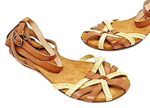 PIKOLINOS British Tan/Ivory Sandals
