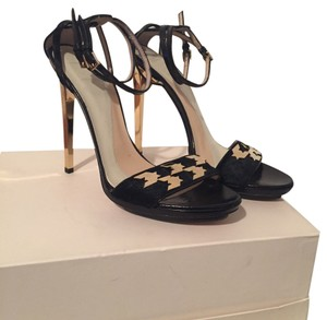 Hervé Leger Black Sandals