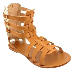 ALL BLACK Cleopatra Gladiator Summer Beige Sandals