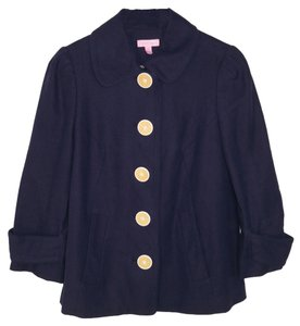Lilly Pulitzer Linen Navy Jacket