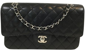 Chanel Classic Quilted Caviar Shoulder Bag