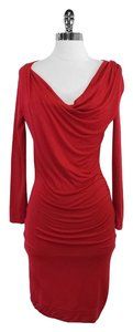Vivienne Westwood short dress Red Gathered Long Sleeve on Tradesy