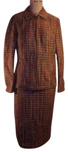 Coldwater Creek Topaz Boucle Jacket & Pencil Skirt Set