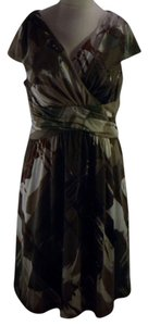 Coldwater Creek short dress Greens, Browns, Creams on Tradesy