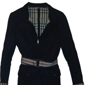 Burberry England Made In England Brit Black Jacket