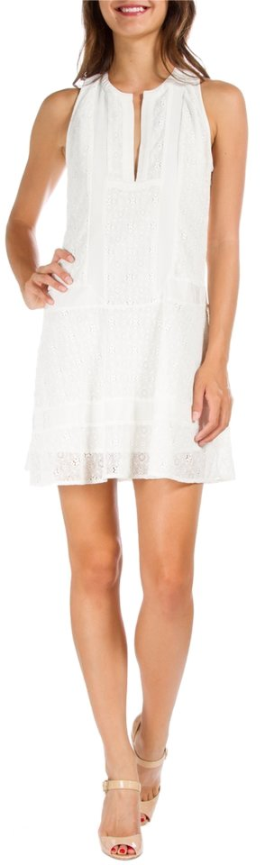 Twelfth st by cynthia vincent white summer summer lace for Wedding dress size 10 equivalent