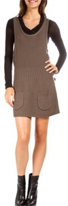 Marc by Marc Jacobs short dress Brown Office Wool Wool Winter on Tradesy