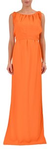 Orange Maxi Dress by Hugo Boss