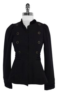 Marc by Marc Jacobs Black Wool Velvet Jacket