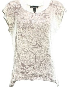 INC International Concepts Top beige