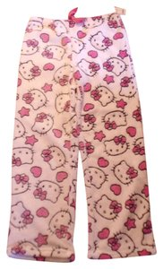 Hello Kitty Soft Night Pant Baggy Pants White