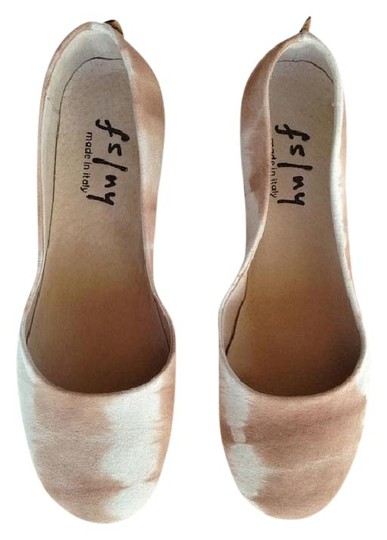 French Sole Nude Tie Dye Flats