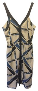 Topshop Vintage Pattern Geometric Shapes Dress