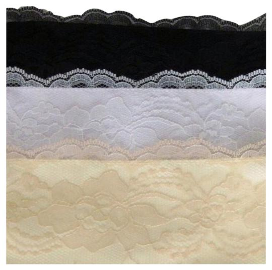 Other Set of 3 Colors Wide Lace Overlay Modesty Panels Sz S Chemisettes by Anne