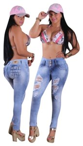 Colombian Butt Lift & Tummy Tuck Jeans Skinny Jeans