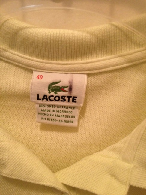 Lacoste Prepp Preppy Classic Top light lime green