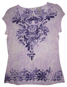 Liz & Co. T Shirt Lavender/Purple