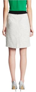 Banana Republic Skirt Ivory/Grey Combo